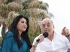 Paola Arias con Juan Carlos Saravia
