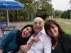 Paola Arias con Juan Carlos Saravia y Analía Trejo